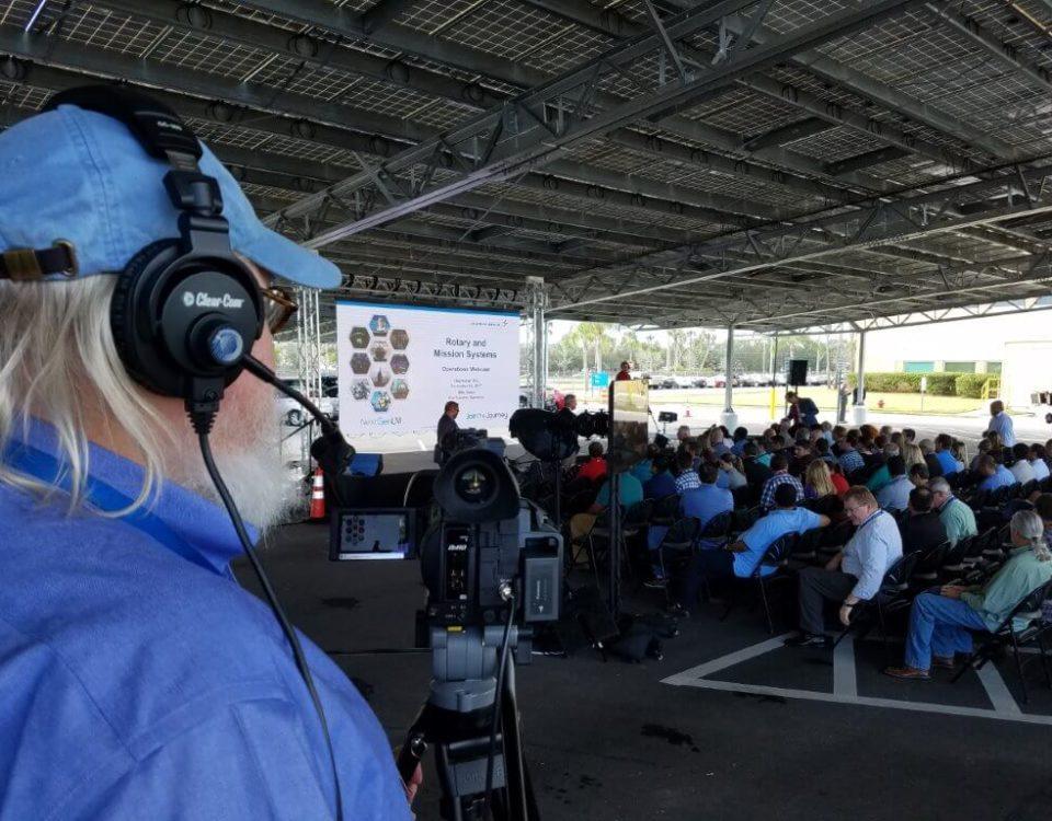 outdoor event video